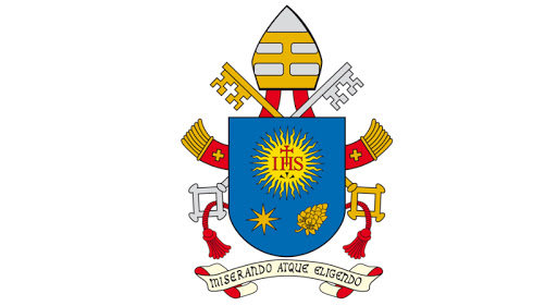 God's mercy is highlighted in Pope Francis' coat of arms