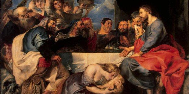Rubens, Jesus and Pharisees