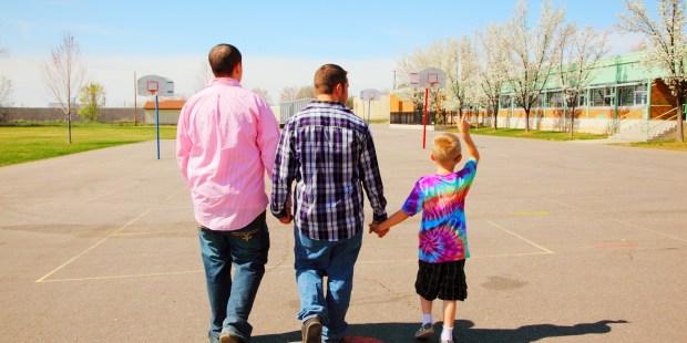 gay couple family