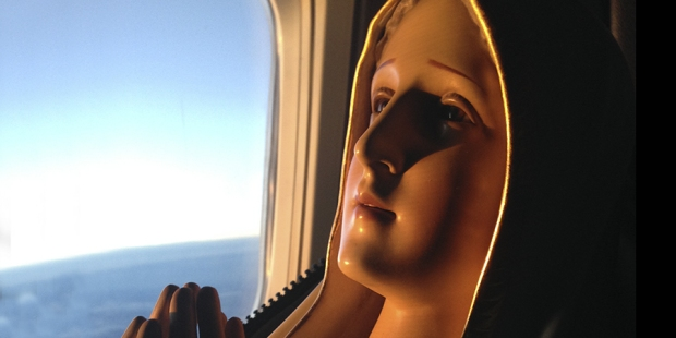 Our Lady of Fatima International Pilgrim Statue CC