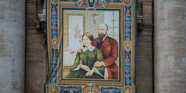 Canonization of Louis and Zelie Martin