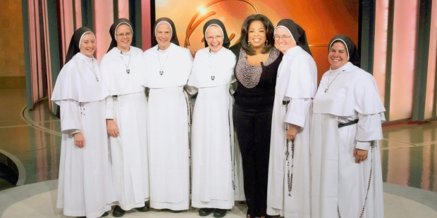 Dominican Sisters & Oprah at second show