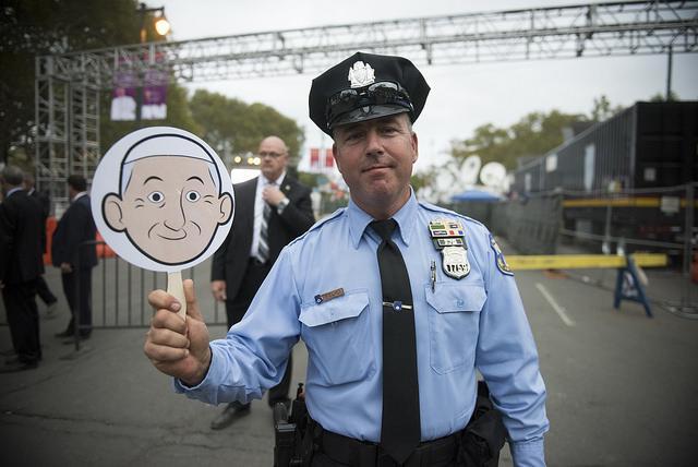 cop with emoji