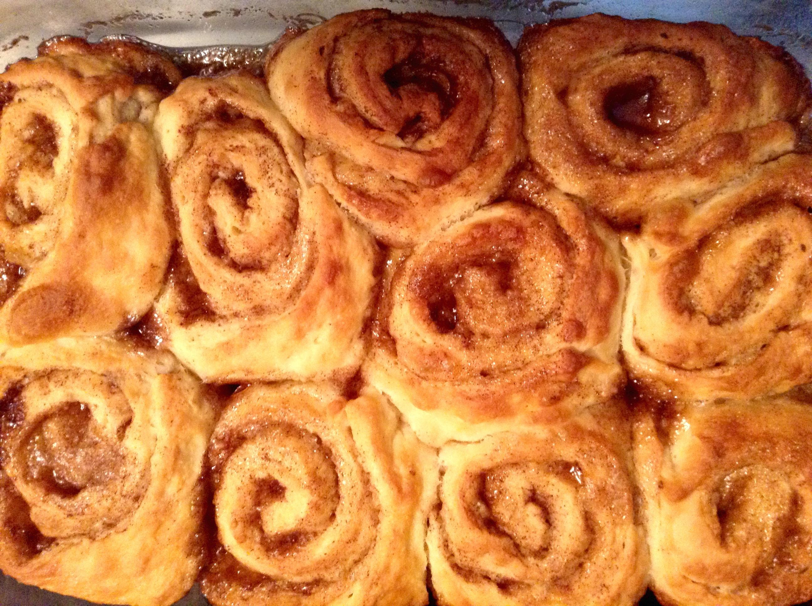 food blog cinnamon buns