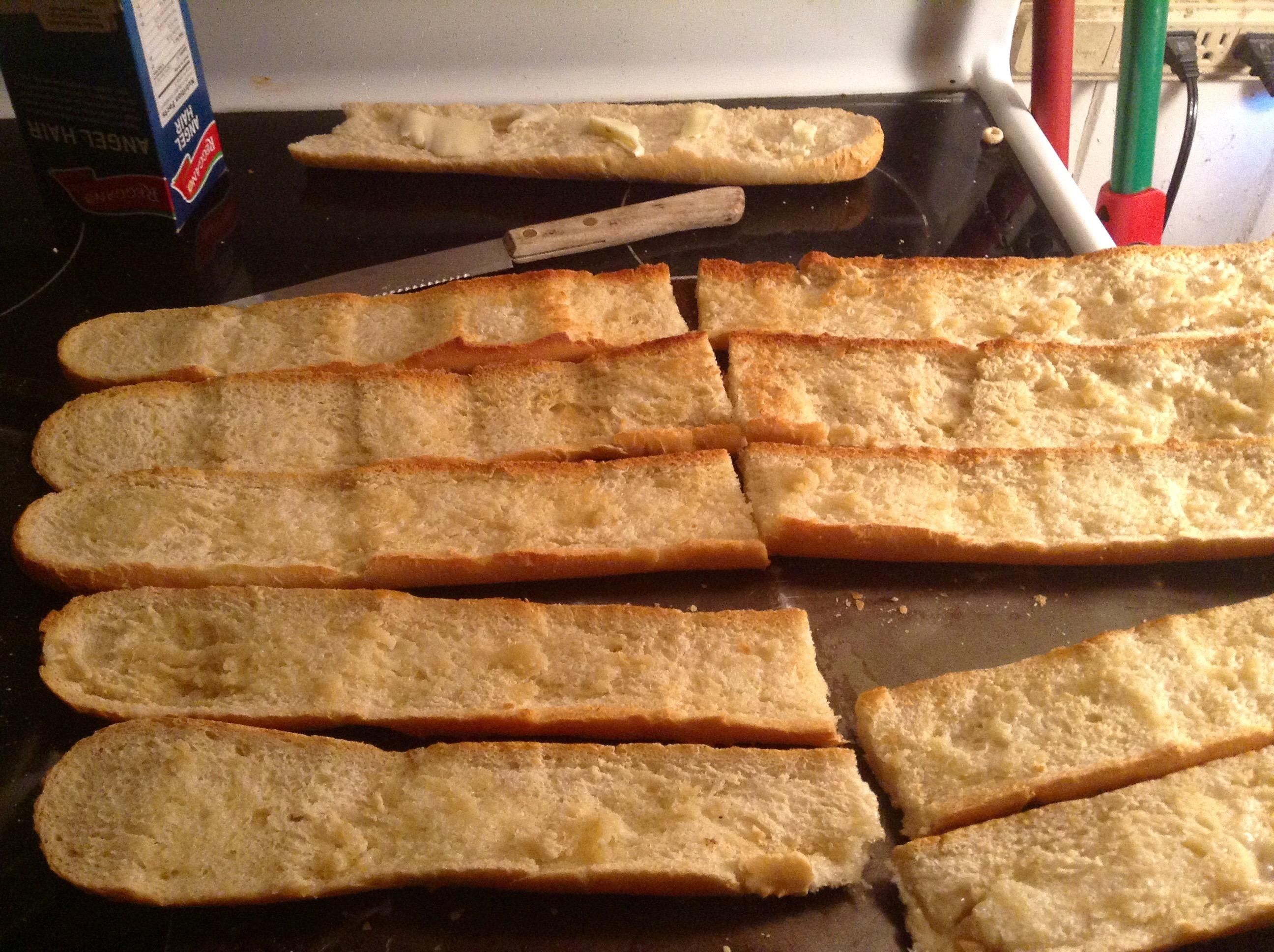 food blog garlic bread