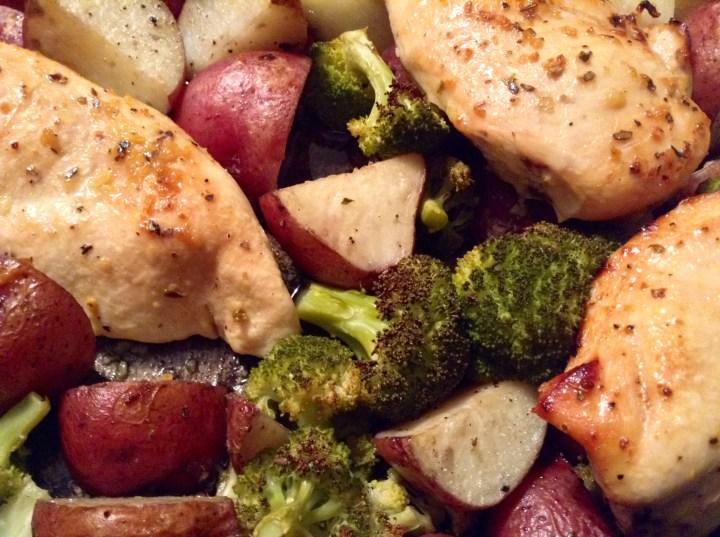 food blog honey chicken