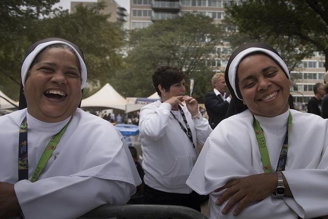 nuns philly papal visit