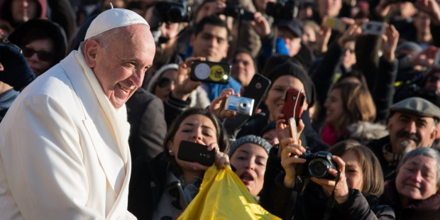 Pope Francis wednesday general Audience December 30, 2015
