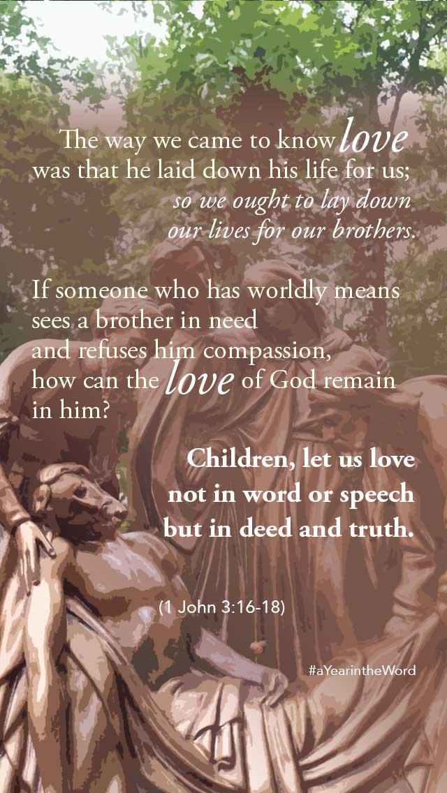 1 John 3 16-18