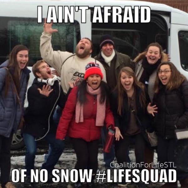 ain't afraid