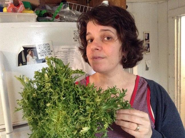 food blog frisee lettuce