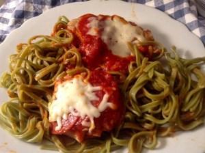 food blog pepperoni chicken
