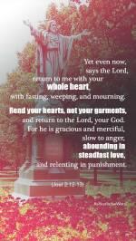 Joel 2 12-13