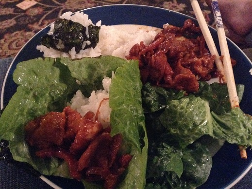 korean plate