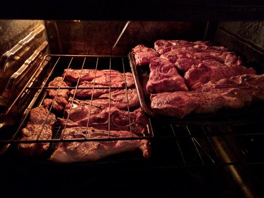 pork ribs in oven