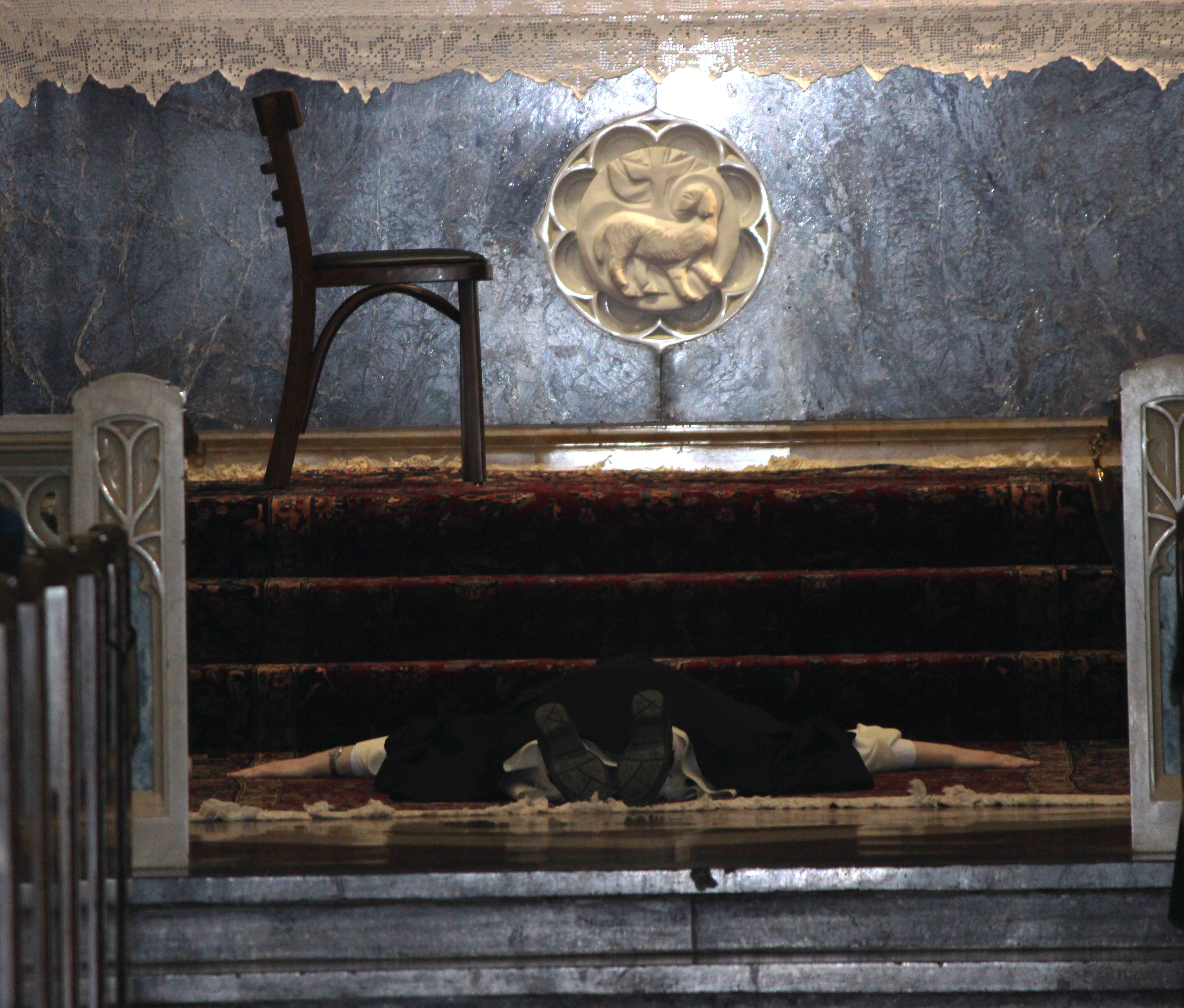 Prostration and Prioress Chair