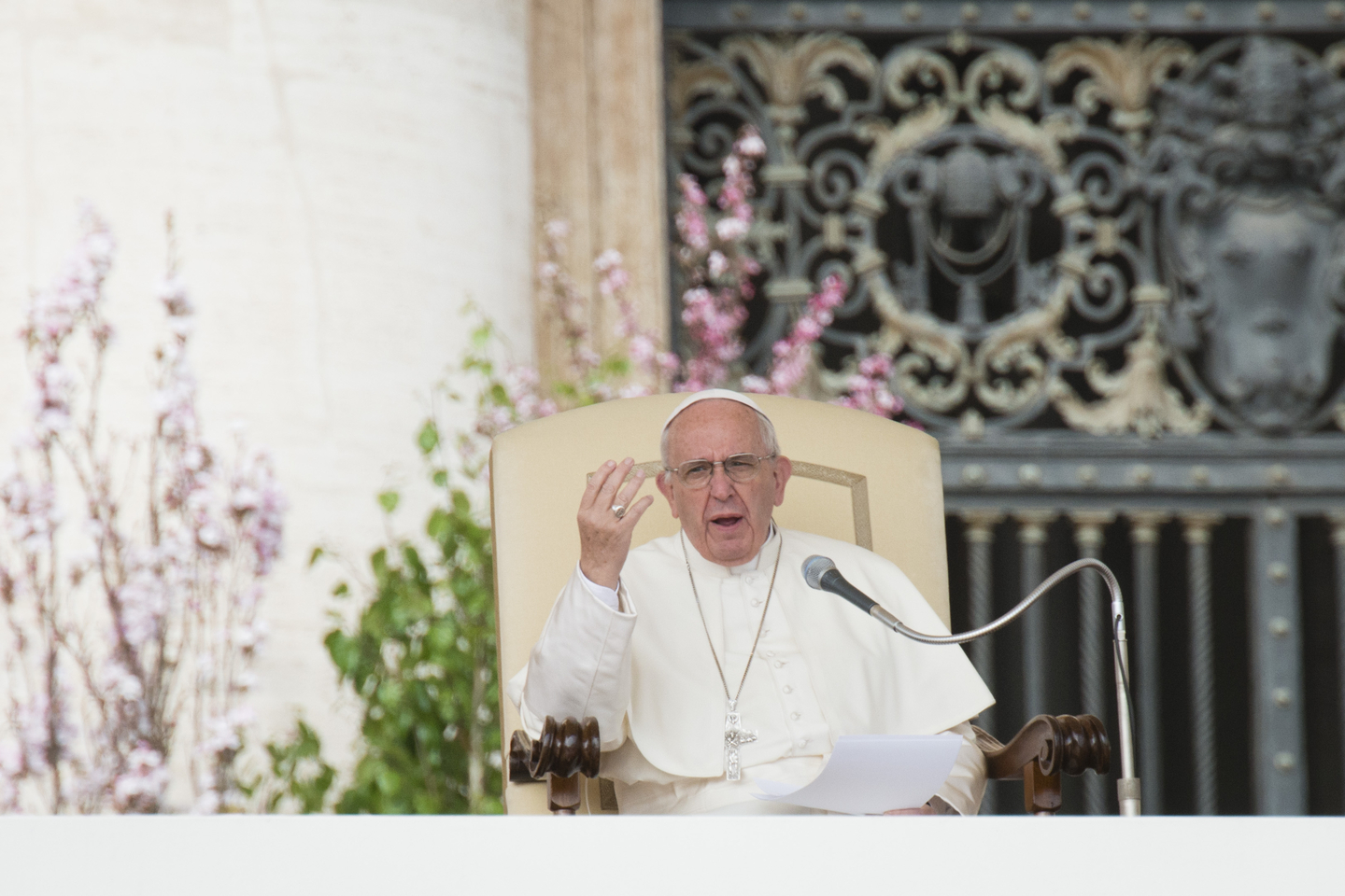 Pope Francis General Audience March 30, 2016