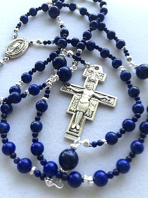san damiano rosary