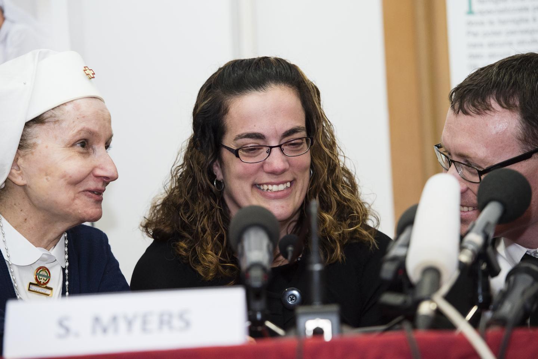 Press Conference STEVE & CHRISTINE MYERS