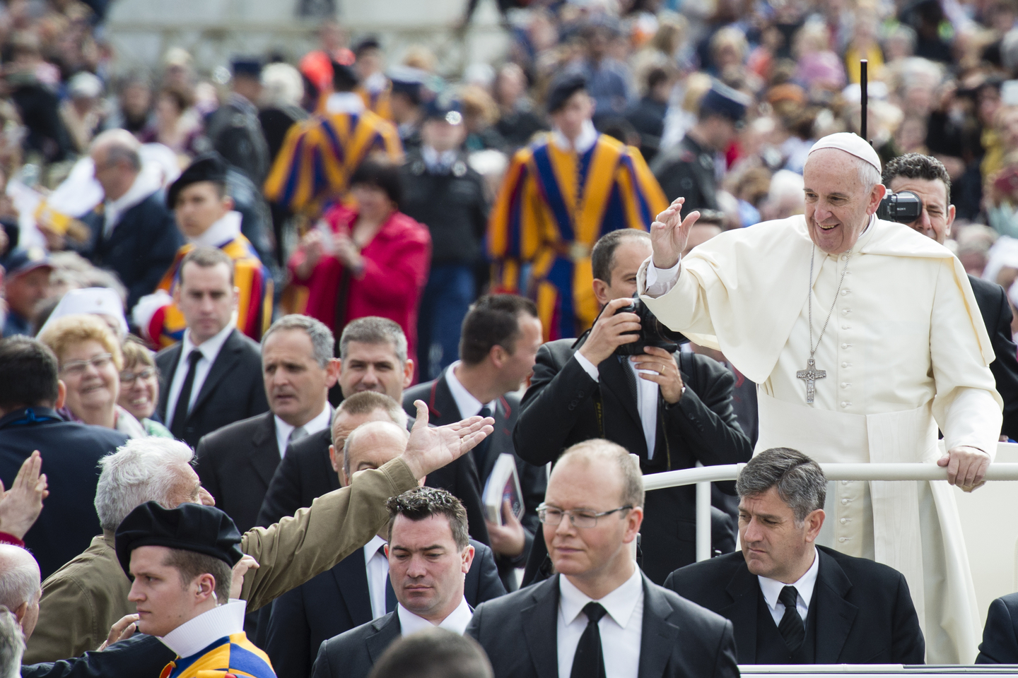 Pope Francis general Audience April 26, 2016