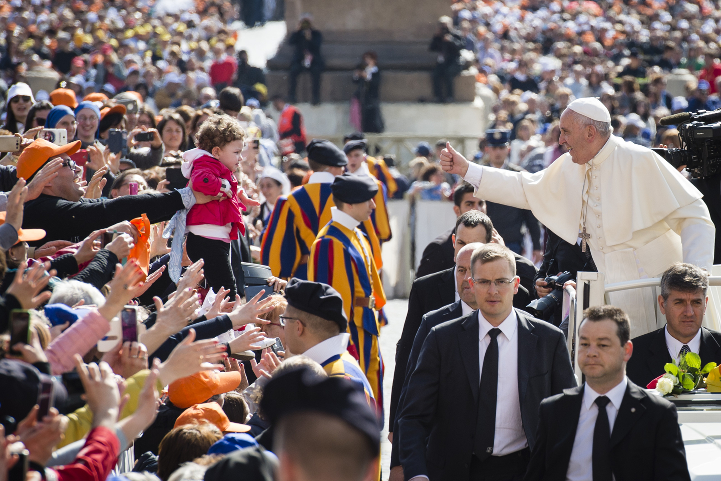 Pope Francis audience Jubilee Year of Mercy April 30, 2016