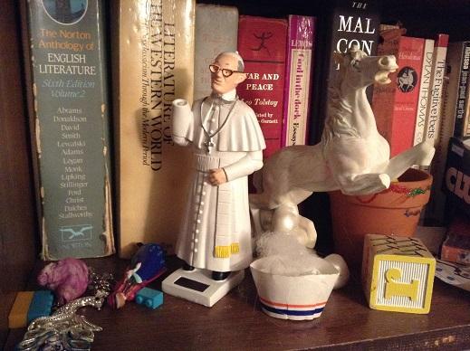 pope shelf