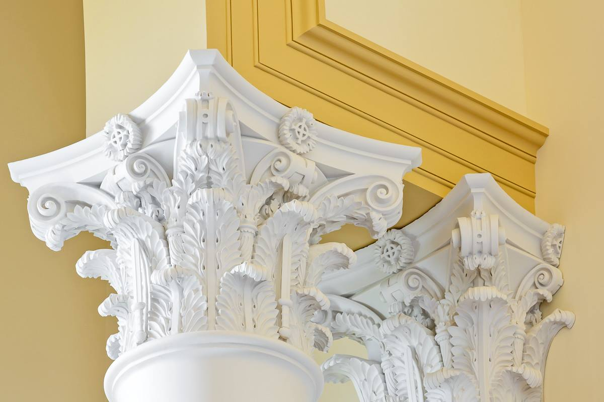 ST. PAUL THE APOSTLE, Spartanburg, SC. Corinthian capitals, Firewater Photography