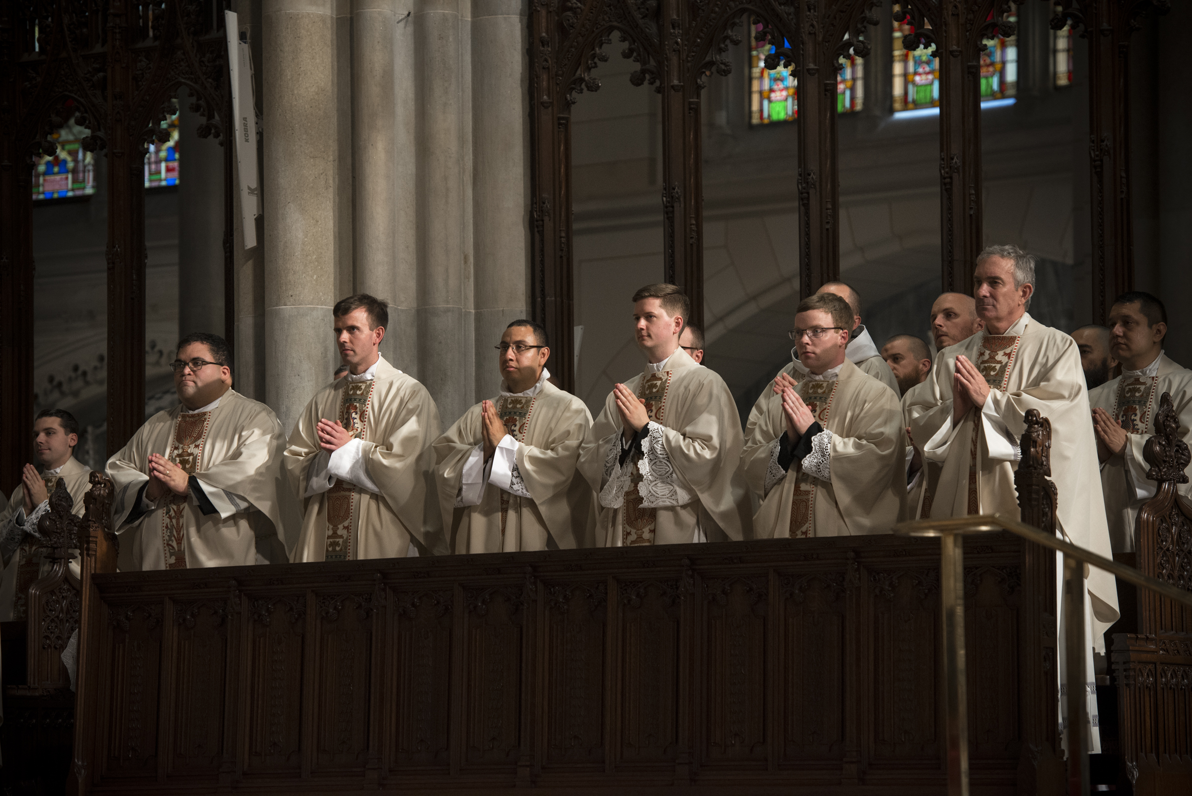 14 men were ordained on May 28th, 2016 at St Patricks Cathedral by Cardinal Dolan.