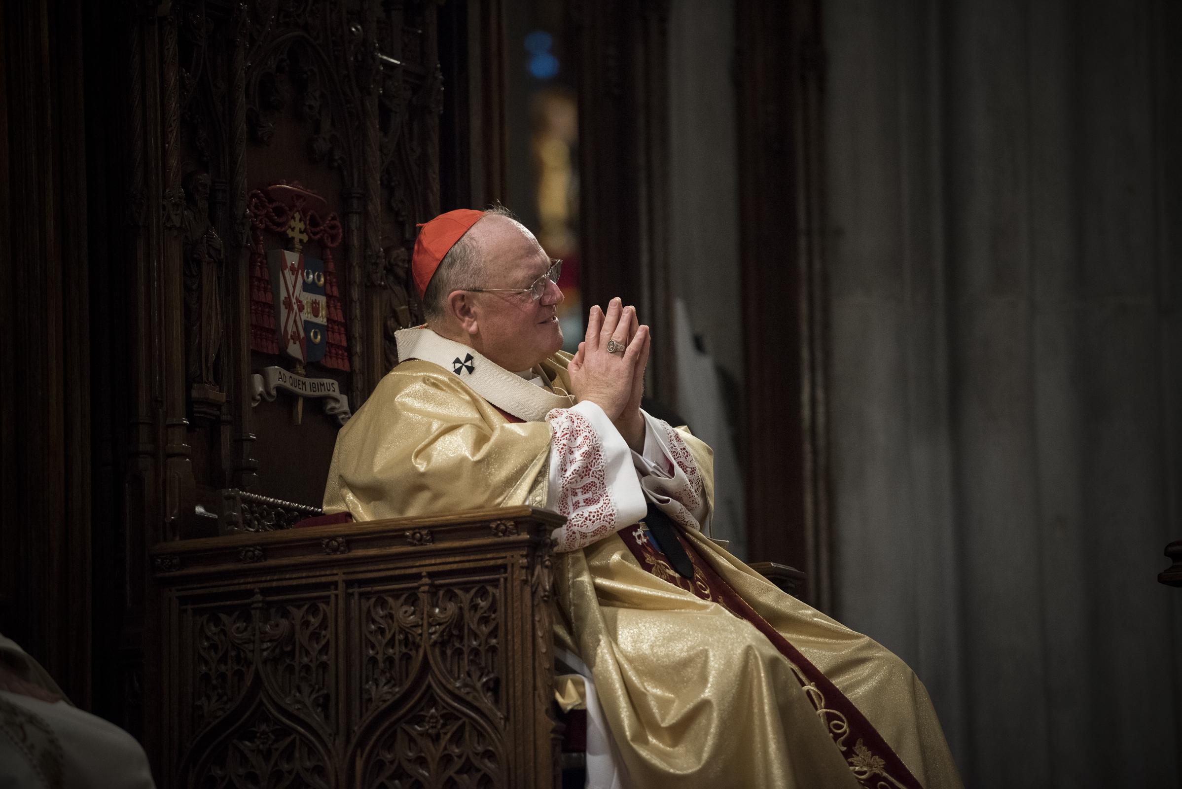 Timothy Cardinal Dolan, Archbishop of New York, presided at the ordination.