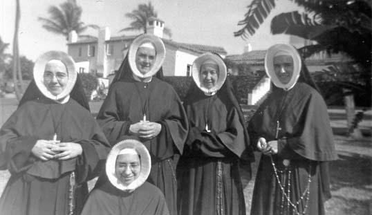 Cenacle nuns 1960 public domain