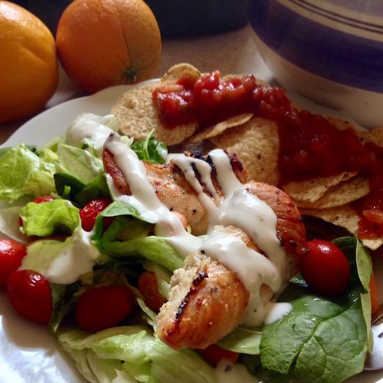 chicken salad chips