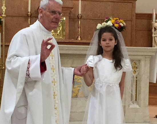 lucy first communion