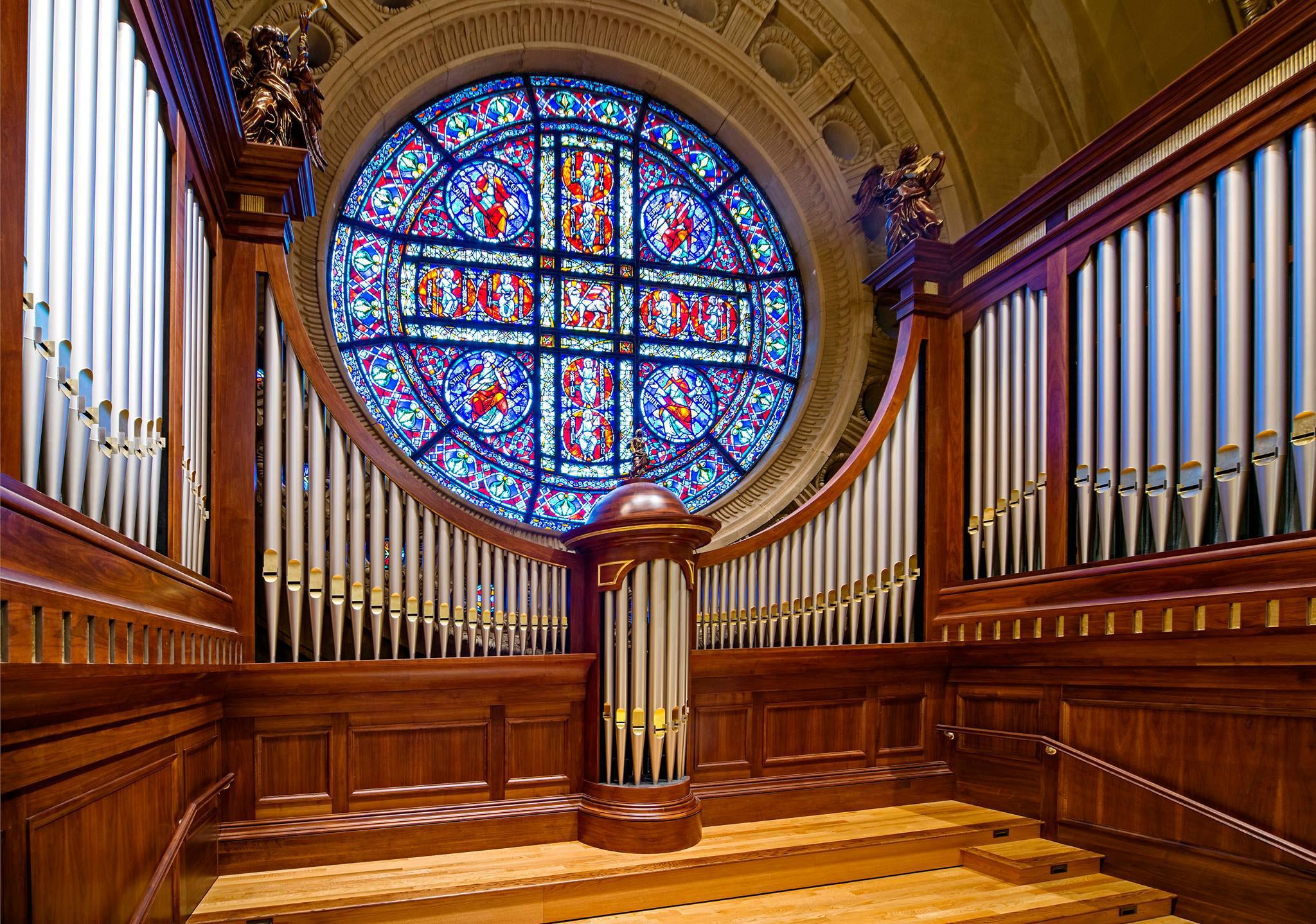 St. Paul Cathedral, St. Paul, MN Organ Case - Joe Hilliard