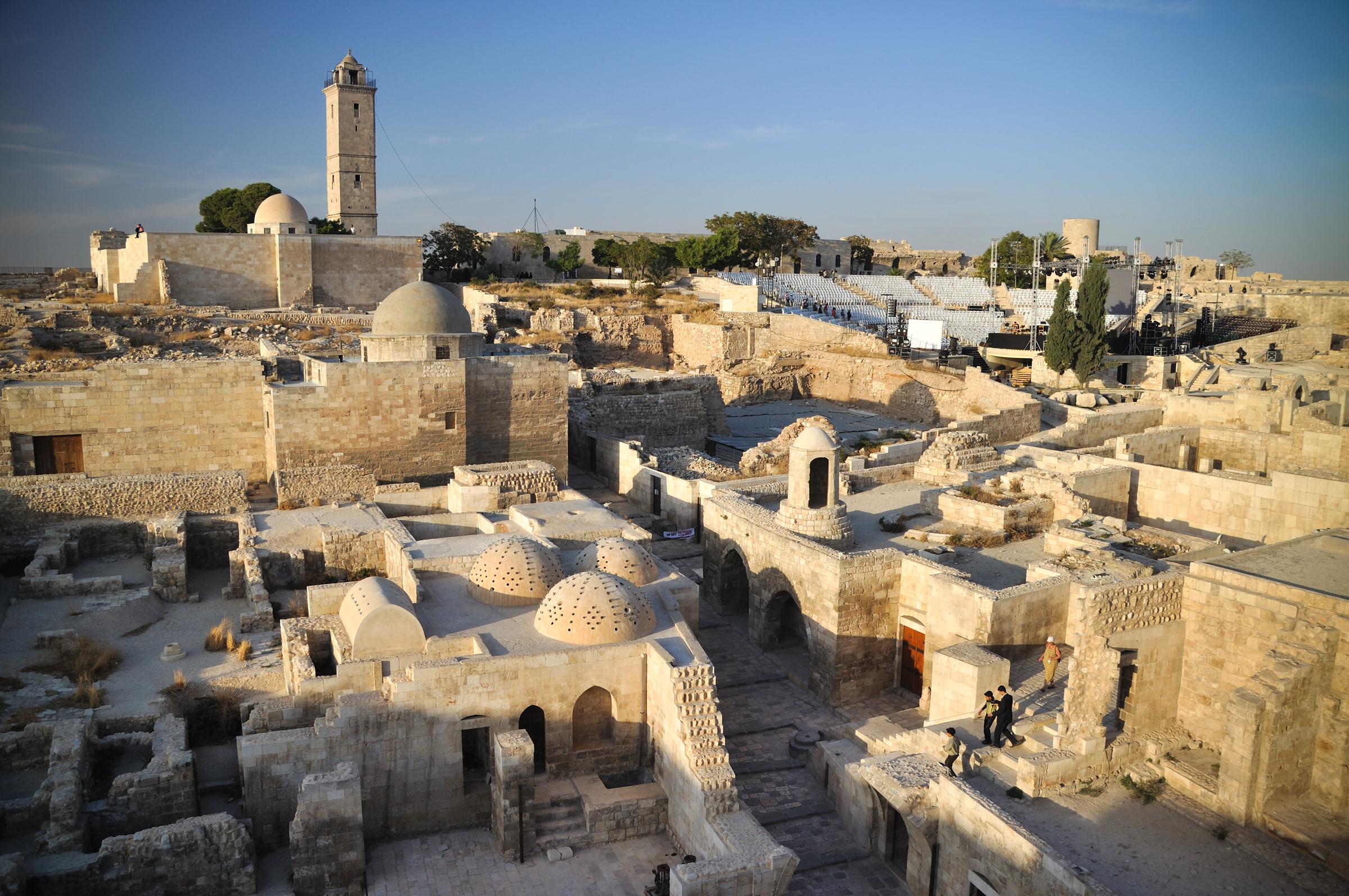 SYRIA; ALEPPO; CITADEL