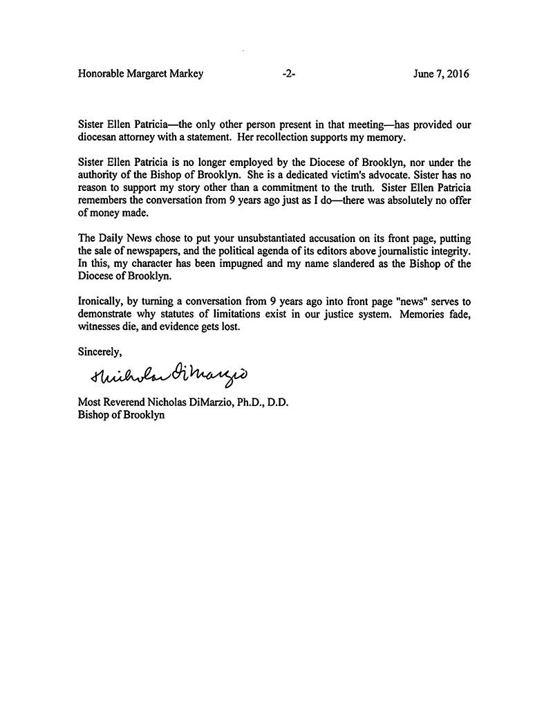 Bishop-DiMarzio-letter-to-Margaret-Markey-page2-1