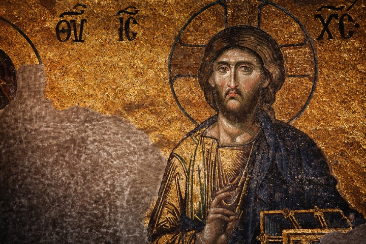Jesus Christ Pantocrator, Hagia Sophia, Istanbul