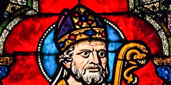 SAINT IRENAEUS,STAINED GLASS