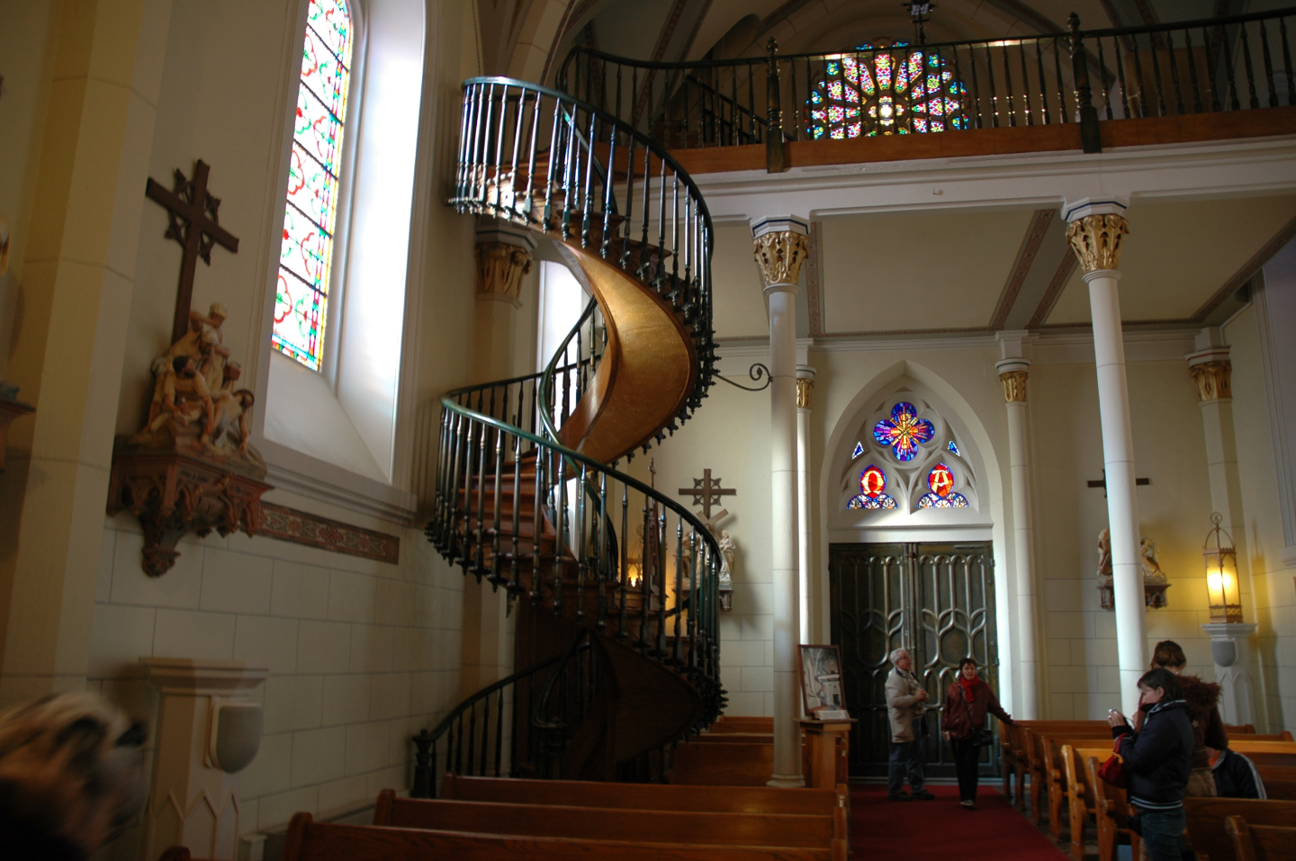 The Day St Joseph Built A Staircase In New Mexico