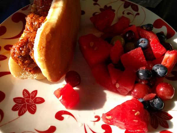 meatball sub fruit salad