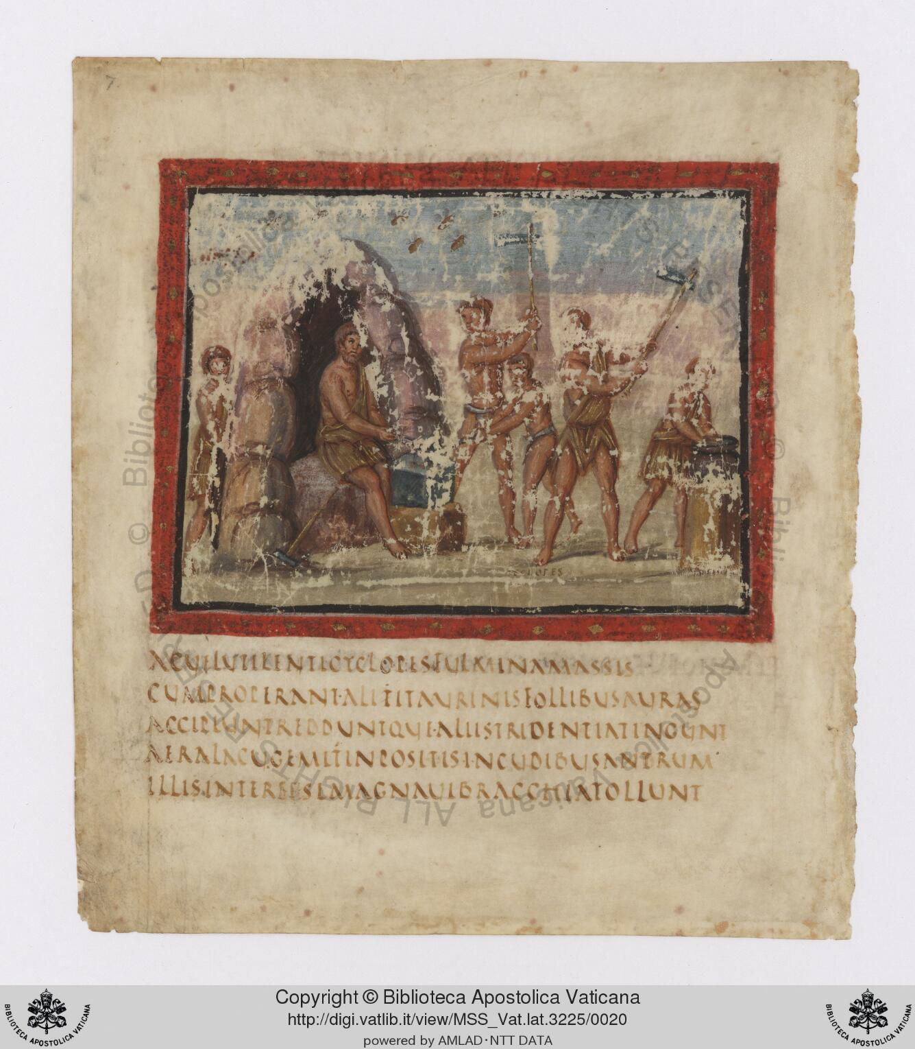 The Apostolic Vatican Library recently announced that it had completed the digitization of a manuscript of about 1600 years of age, which contains fragments of the epic text that was commissioned by the Emperor Augustus in the first century BC.