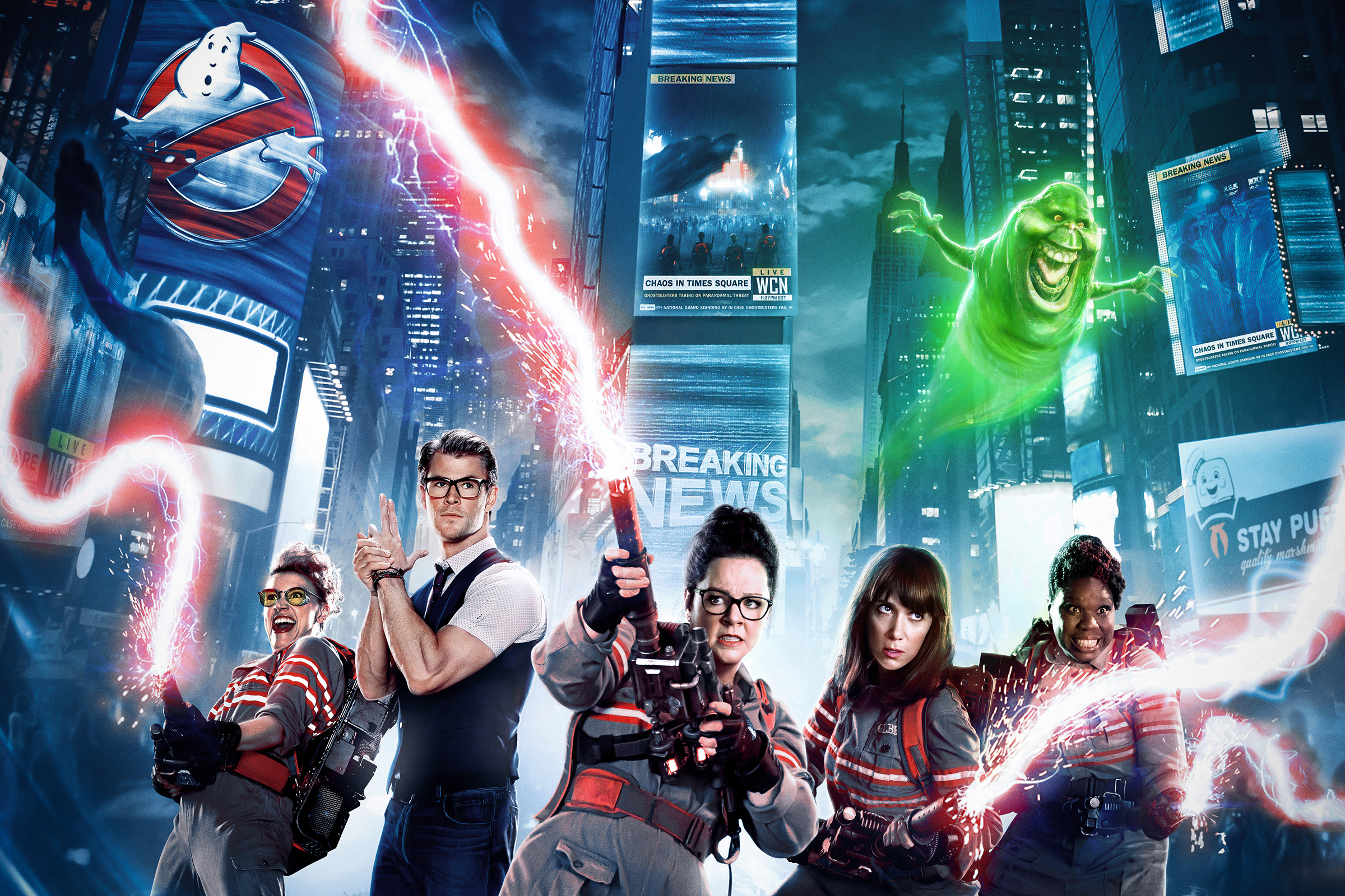 2. Ghostbusters (2016): All the characters were wonderful, and everyone would love to watch a movie sequel.