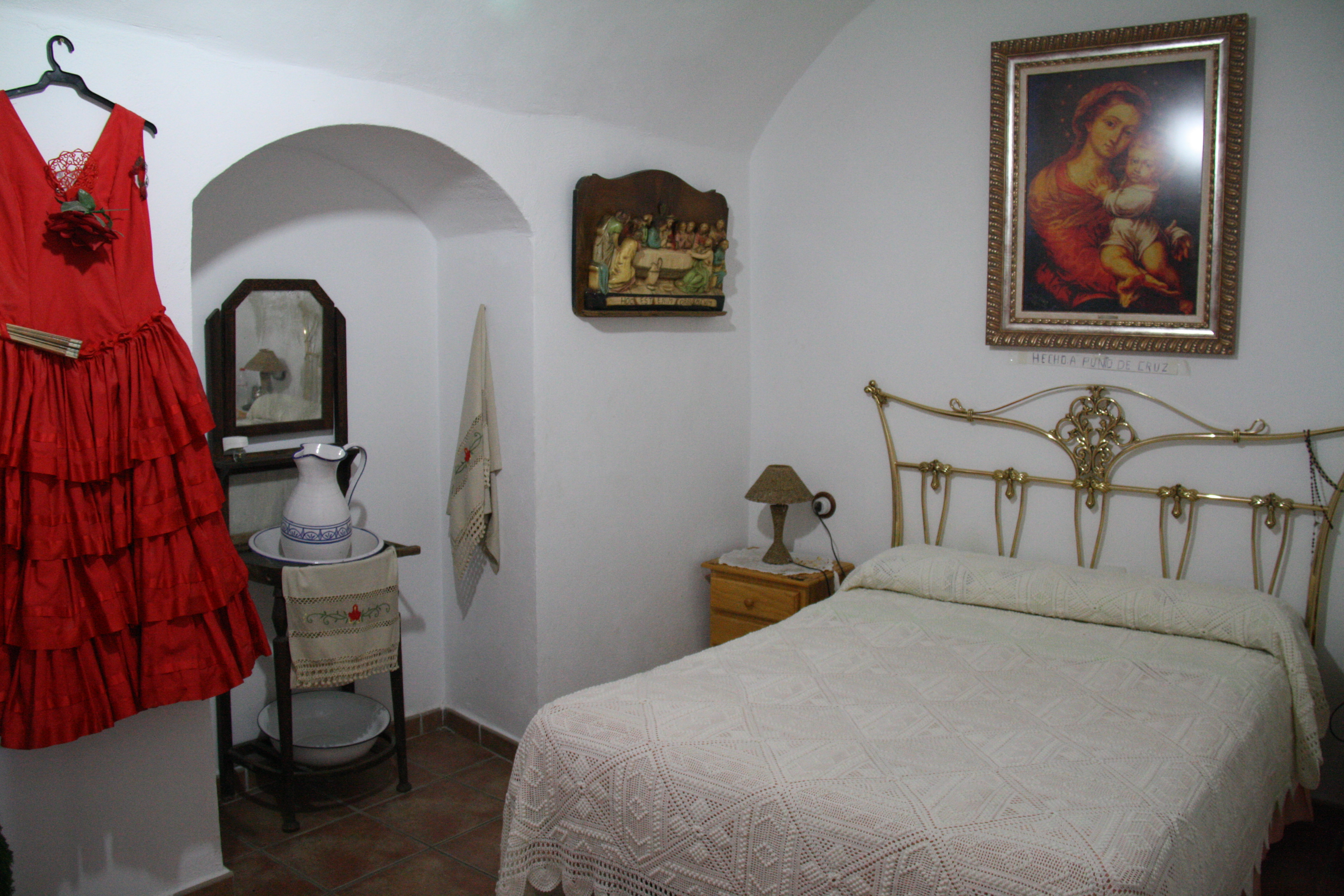 Cave bedroom in Guadix