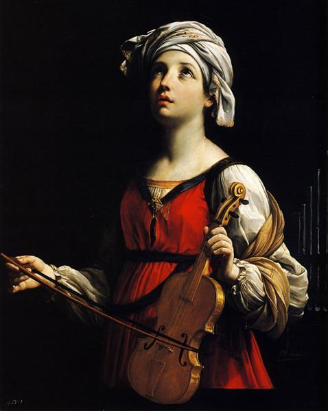 St. Cecilia, patron saint of sacred music