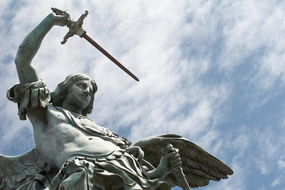 web-saint-michael-archangel-sky-martinidry-shutterstock_35555443