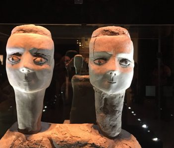 Ancient sculpture unearthed in Amman, Jordan, on view at the Jordan Museum/Jack Mauro