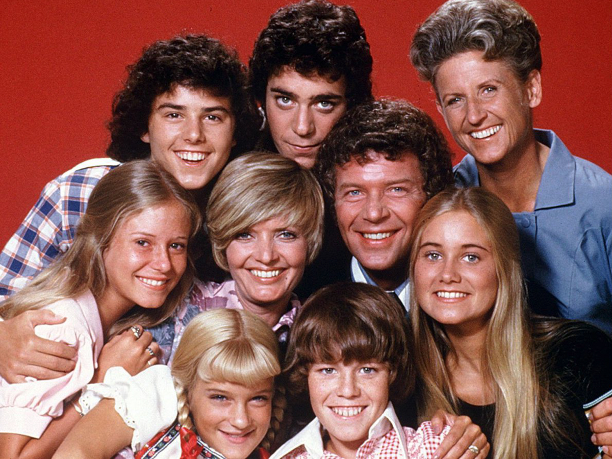 The Brady Bunch Television Cast - Paramount CBS Promotional Photo