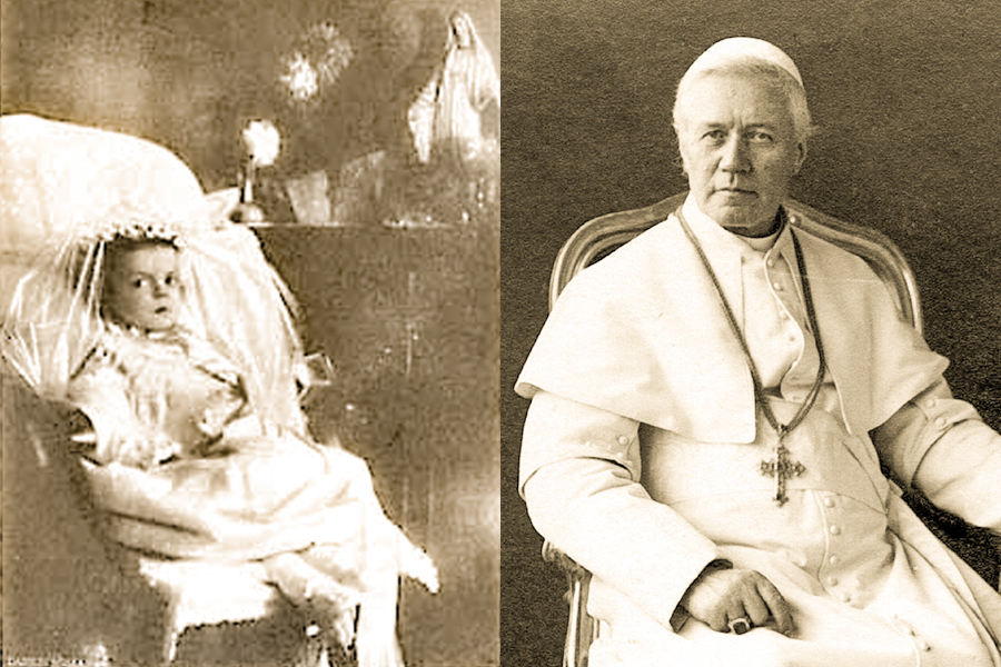 """Little Nellie of Holy God"""": The toddler who inspired a pope"""