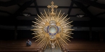 EUCHARIST IN MONSTRANCE