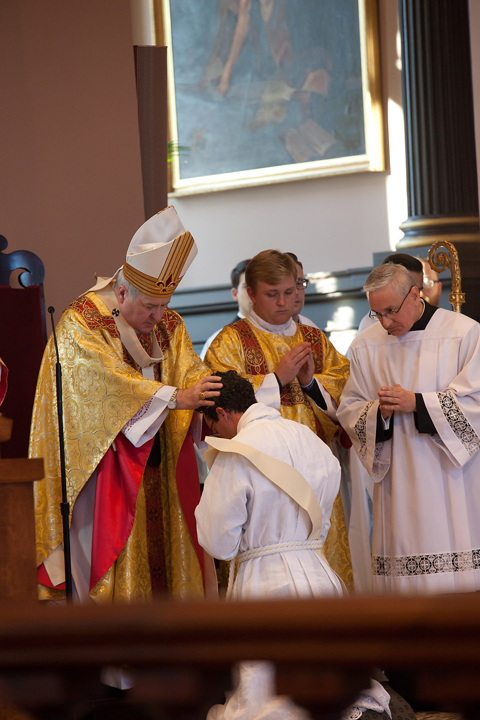 FR MICHAEL RENNIER ORDINATION