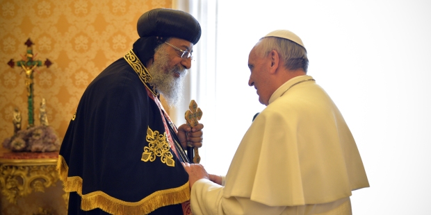 Pope Francis, Tawadros II